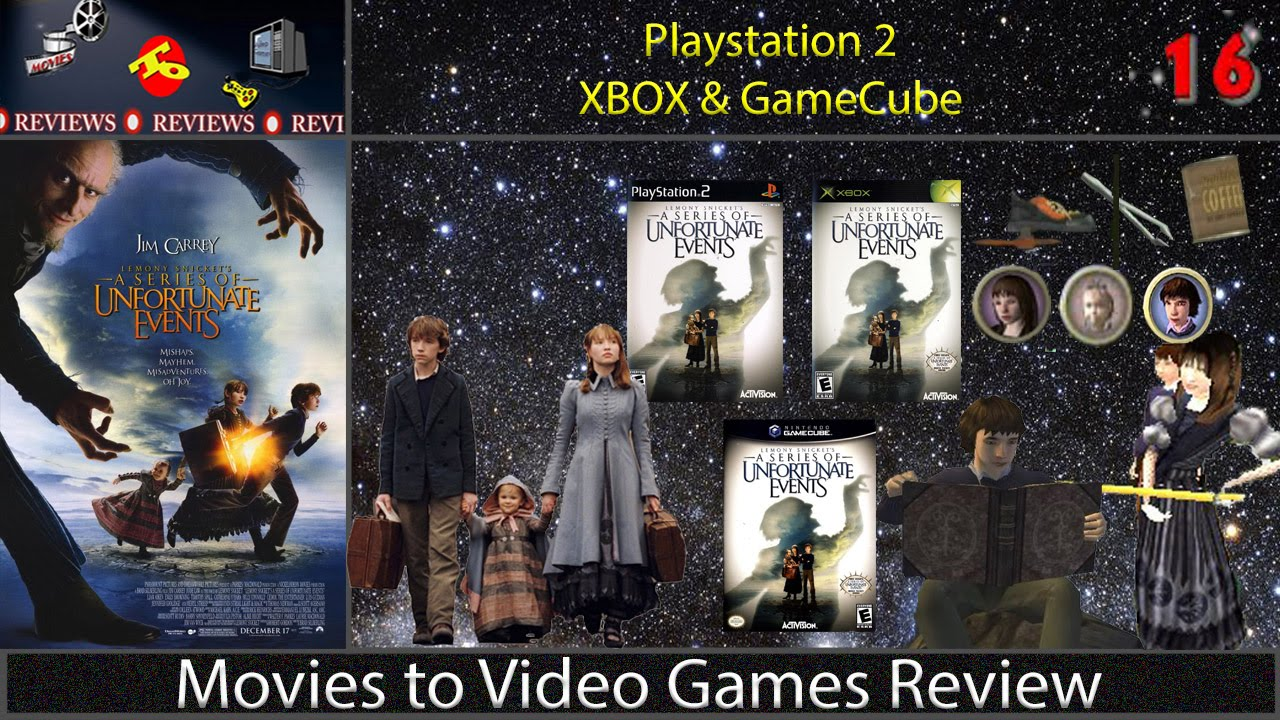 movies to video games review lemony snickets a series