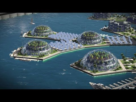 Floating city backed by Peter Thiel could one day become a reality
