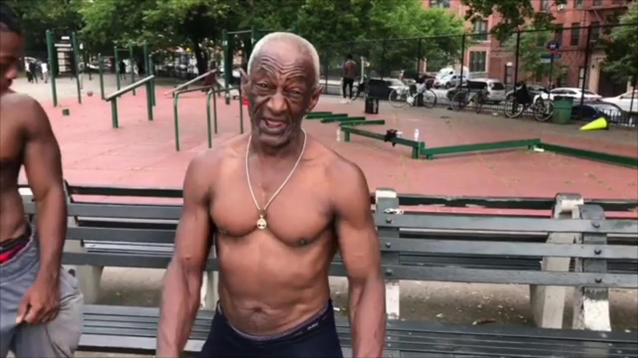 70 years old man Fit from calisthenics Motivation - YouTube
