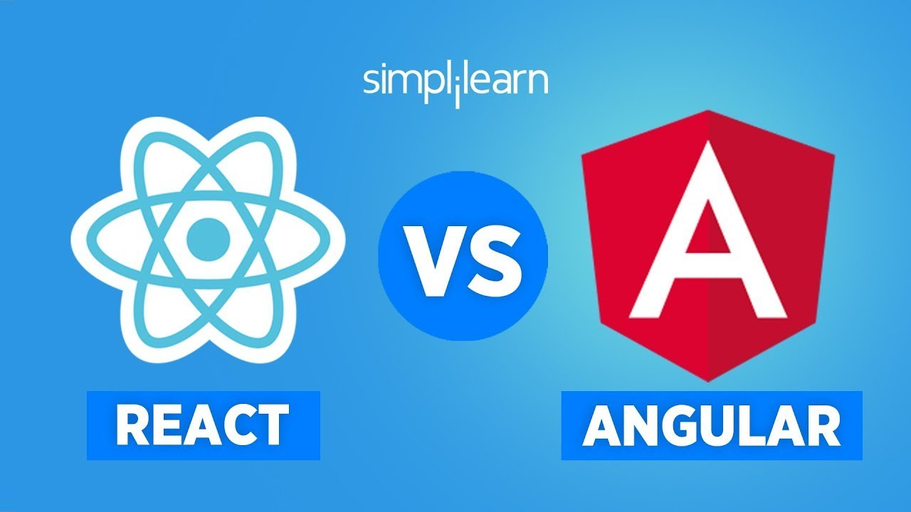 React vs Angular In 2020 | Difference Between Angular And React