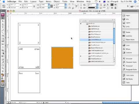 Using Scripts in InDesign CS3, CornerEffects