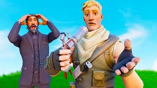 Reacting to How to Train Your NOOB! Fortnite Film Animation!
