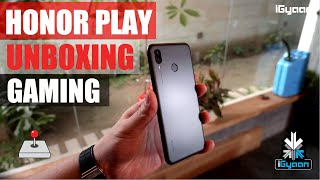 Honor Play Unboxing, Gaming and Benchmarks - iGyaan