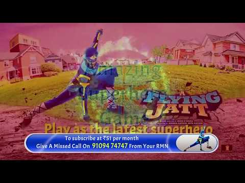 Airtel | iGames | Flying Jatt Game Promo