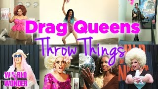 Drag Queens Throw Things w/ Alyssa, Alaska, Laganja, Delta, Phi Phi, Ginger, Jaidynn, Coco & Tempest