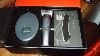 Unboxing Wella Xpert Hair Clippers Grooming HS71 Mens Cordless Rechargeable Vets Trimmer