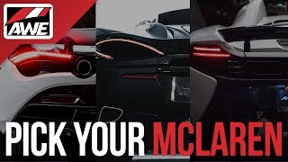 homepage tile video photo for Pick your McLaren [Gear Giveaway].