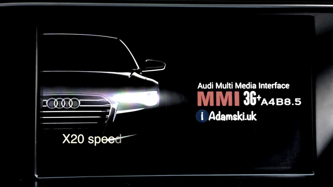 How to update maps Audi MMI 3G Plus / 3G High - UpgradeMyAudi net