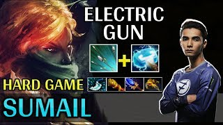 Sumail Play Windranger MID | Electric Gun With Maelstrom, Hard Game - Dota 2