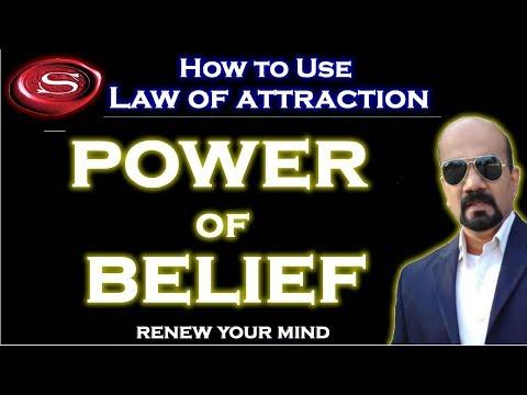 Power of belief - the extraordinary power of beliefs! (law of attraction)