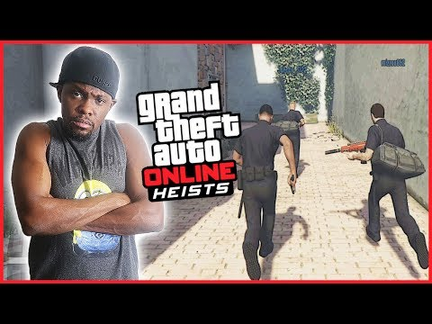 TIME FOR THE HEIST! LET'S GET PAID! - GTA Online Heist Gameplay