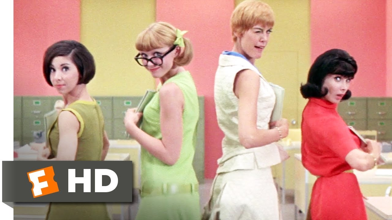 How to Succeed in Business Without Really Trying (1967) - A Secretary Is Not a Toy Scene (5/10)