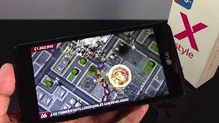 LG X Style, rendimiento en juegos