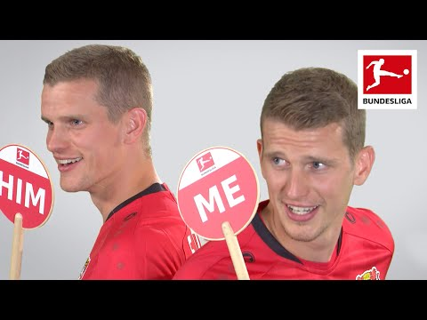 Lars and Sven Bender on Life as Twins, Swag & More - Me or Him Challenge