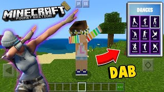 HOW TO MAKE FORTNITE DANCES WITH YOUR SKIN IN MINECRAFT PE 1.13.0.4 (MCPE 1.12.0)