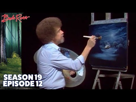 Bob Ross - Evening's Peace (Season 19 Episode 12)