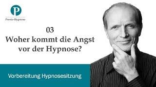 Woher kommt die Angst vor der Hypnose?