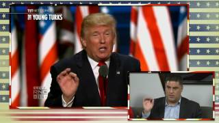 Cenk Uygur Does An Impression Of Donald Trump