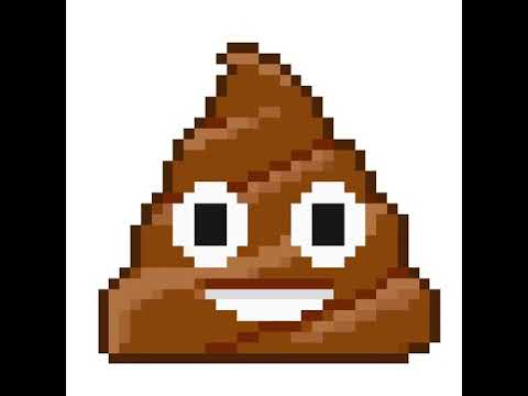 15ème Pixel Art Crotte émoji Youtube