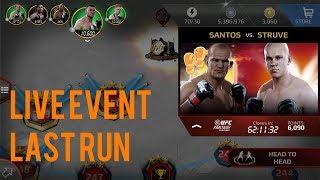 EA SPORTS UFC Mobile - Fantasy Live Event: Junior dos Santos / Stefan Struve Live Event Last Run!