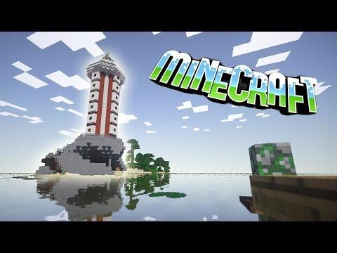 видео: #58 Маяк в Minecraft!!! 2.0