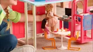 Smyths Toys - Barbie Malibu Townhouse