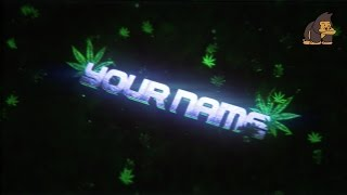 Sync WEED Intro Template #003 by MonkiiArtZ [C4D&AE]