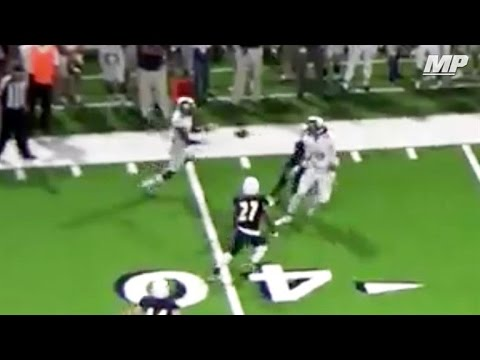 Texas team pulls off hook and lateral for score