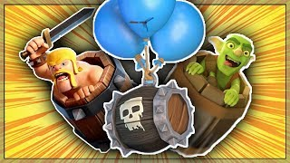 TRIPLE BARREL TROLLING IN CLASH ROYALE!! || Crazy Triple Barrel Bait Deck in Clash Royale!