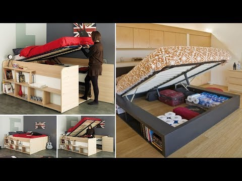 Clever Furniture Storage Ideas | Bedroom Space Saving Ideas For Small Bedrooms
