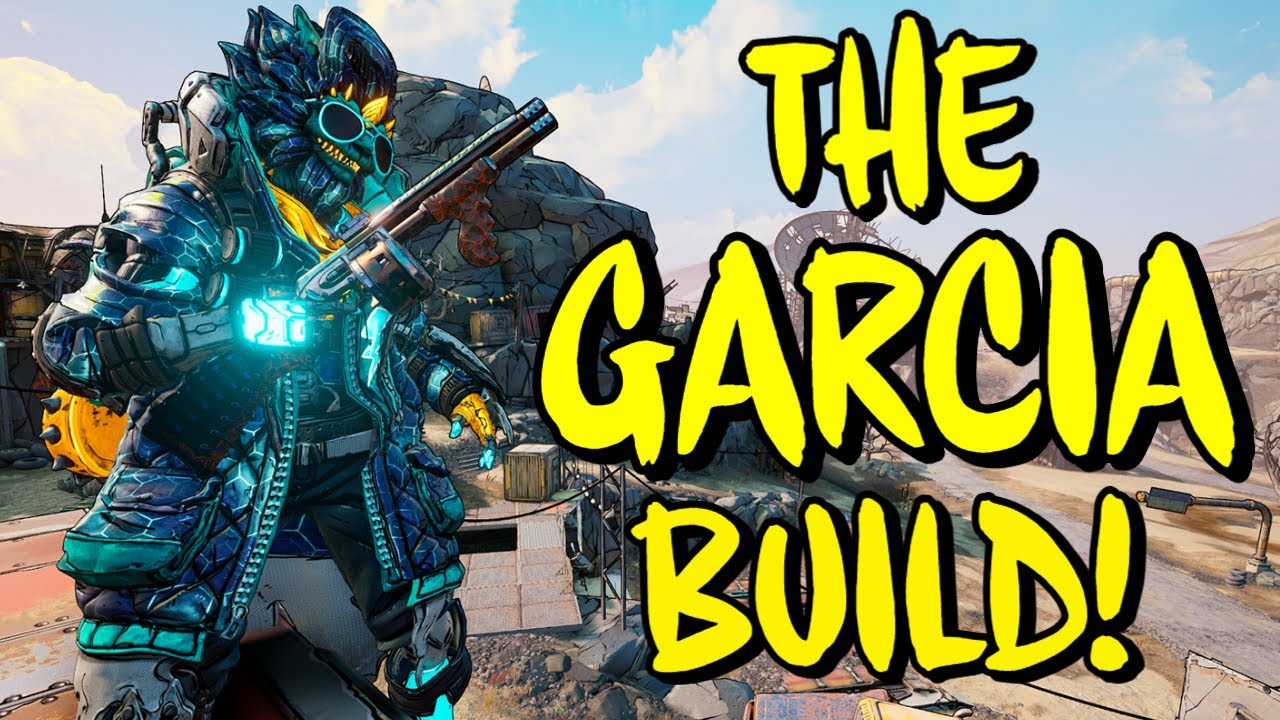 Borderlands 3 Level 65 GARCIA FL4K Crit Build (Mayhem 11) Huge Garcia Buff!