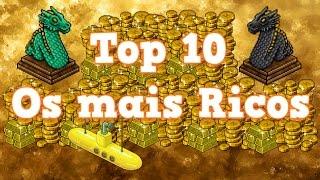 Habbo - Top 10  Mais Ricos do Hotel 2017 ‹ Vivido ›