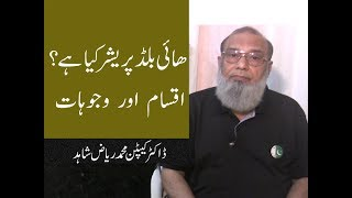High Blood Pressure Causes And Types in Urdu..Dr Muhammad Riaz Shahid