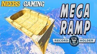 GTA 5 - MEGA RAMP - World Record!