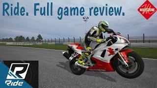 RIDE!  game by Milestone. Full game review and my thoughts.