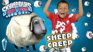 Meet Sheep Creep: Villain Gameplay & More W/ Sky Boy Mike (skylanders Trap Team Life Enemy)
