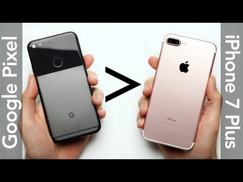 25 Reasons Why Google Pixel XL Is Better Than iPhone 7 Plus