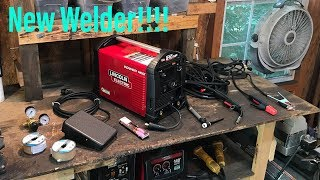 Lincoln Electric Power MIG 210 MP Welder!!!