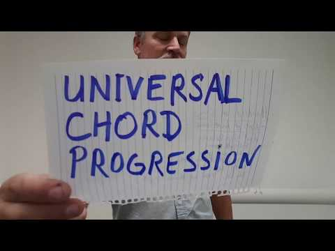 The Universal Chord Progression (1-5-6-4) for the 3 String Cigar Box Guitar