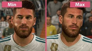 FIFA 18 – PC 4K Min vs. Max Graphics Comparison