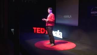 The youngest robot-maker is only a teenager! | Dimitris Chatzis | TEDxKavala