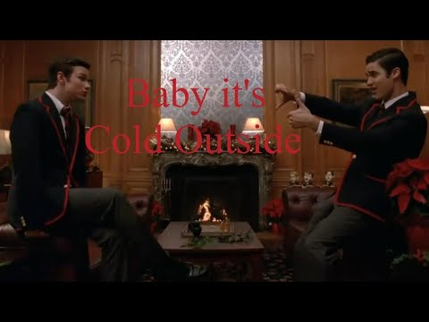Glee Baby It's Cold Outside Lyrics