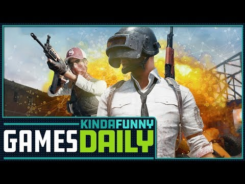 PUBG Nominated For Game Of The Year - Kinda Funny Games Daily 11.14.17