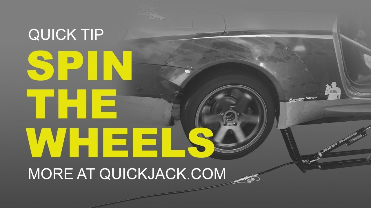 Quick Jack Com >> Can I Safely Run My Vehicle On A Raised Quickjack Youtube