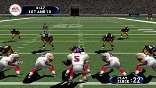 Madden 2002 N64 1964 HD 60fps gameplay (EA Sports, 2001)