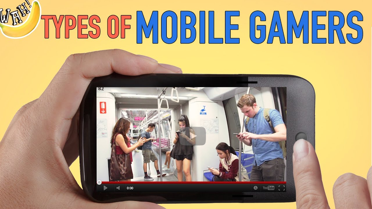 Types of Mobile Gamers ft. SG50 games Gaming Video