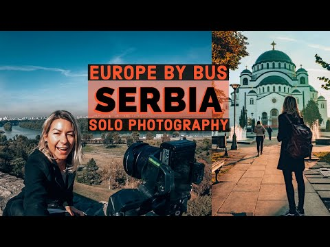 Solo bus trip to Belgrade, Serbia to take Instagram photos
