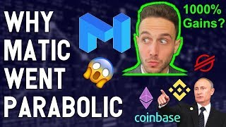 Why Matic Pumped 1000 ? Bitcoin SV Explodes? Stellar Network HALTED? BNB XLM Coinbase