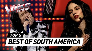 The Voice Global | BEST Blind Auditions of SOUTH AMERICA