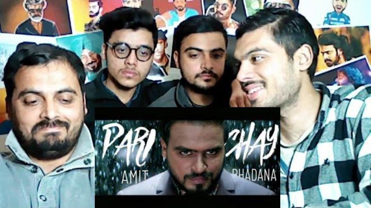 Pakistani Reaction on | Parichay - Amit Bhadana ( Official Music Video ) | Ikka | Byg Byd
